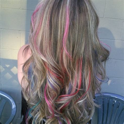 hairstyles multi colored highlights hairstyle pic 20 beautiful blonde balayage looks