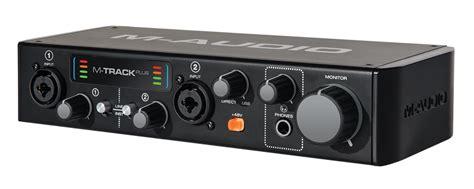 M Audio M Track Plus Mk2 new m audio m track plus mkii mk2 2 channel usb audio interface recording mac pc