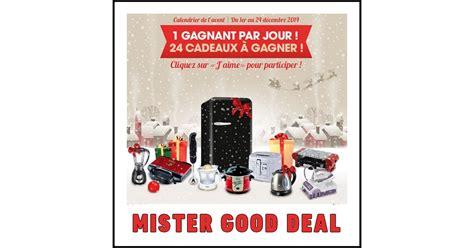 Calendrier Concours Deal Calendrier De L Avent Mister Deal Sur Lot