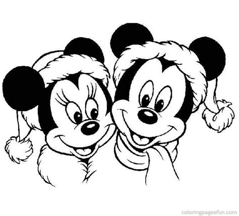disney christmas color pages az coloring pages