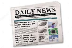 Newspaper Headline Template by 15 Newspaper Headline Templates Free Sle Exle