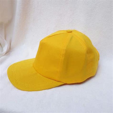Helm Anak Polos Biru Putih topi anak baseball 1 2 3 4 tahun baseball hat anak topi