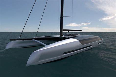 images de catamaran un concept de catamaran 224 voile inspir 233 du superyacht 224 moteur
