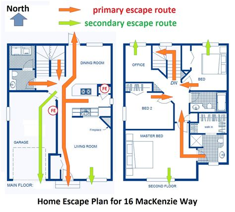 fire escape plans for home planning a fire evacuation route for your home goldsealnews