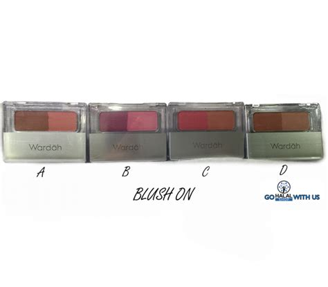 Make Up Blush On Wardah halal cosmetics singapore wardah blush on d more brands available wardah makeover coolhijab