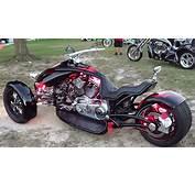 Scorpion RT Custom Three Wheeler  YouTube