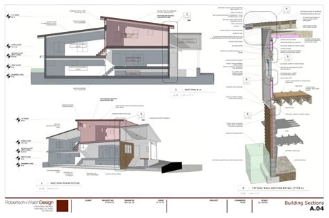 sketchup layout red arrow robertson walshdesign construction models and drawings