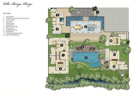 bali villa floor plan rent villa bunga pangi in canggu from bali luxury villas