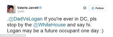 Youtube star logan fairbanks treated to a white house tour with barack