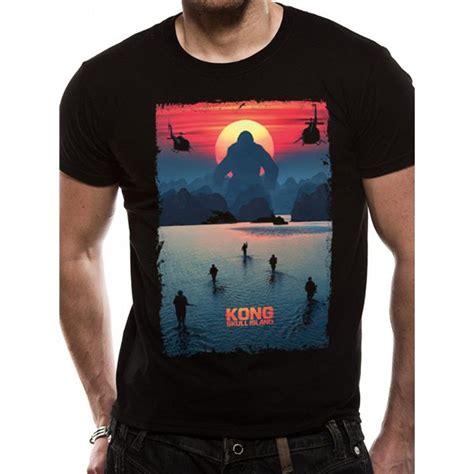 T Shirt Best Kong Skull Island Terbaru kong skull island poster unisex t shirt black for only