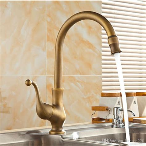 antique kitchen faucet 2018 2018 luxury antique kitchen faucet with deck mounted kitchen sink faucet of cold brass