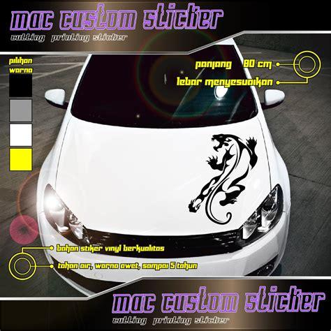 Sticker Tribal Untuk Mobil by Jual Cutting Sticker Kap Mobil Tribal 2 Untuk Mobil