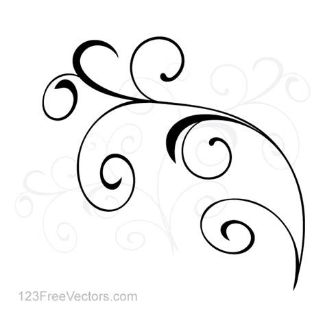 simple layout vector vector simple floral ornament background 123freevectors