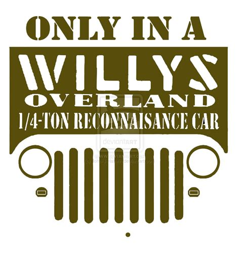 willys jeep logo willys jeep logo by j hamrin on deviantart