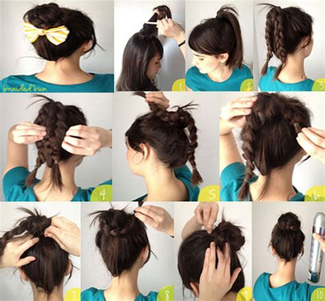 learn easy hairstyles at home hair styles how to do learn howto cook foreign