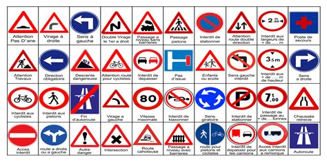 Printable French Road Signs | pictures from the road easy guide to understanding