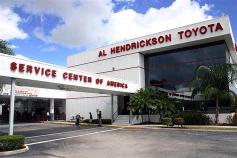 Creek Toyota Service Al Hendrickson Toyota Coconut Creek Florida
