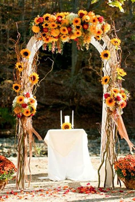 incredible ideas  fall wedding decorations