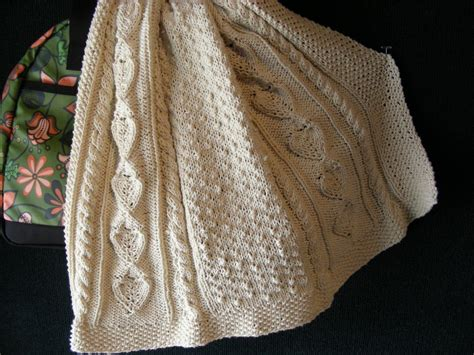afghan knitting patterns baby s aran afghan knitting pattern pdf by sassafrass2