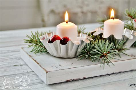 inexpensive christmas table centerpieces ideas 03 decoralink
