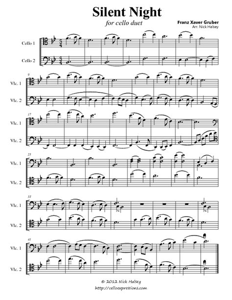 printable sheet music silent night silent night flute sheet music free silent night sheet