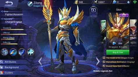 zilong gear guide  tips detailed  mobile legends