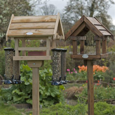 wooden bird feeder station birdcage design ideas