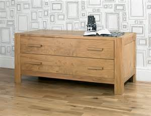 Wide Bookcases Lyon Oak 2 Drawer Wide Chest Oak Furniture Solutions