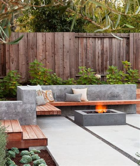 decorating backyard outdoor d 233 cor trend 26 concrete furniture pieces for your backyard digsdigs