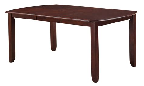 dupree rectangular extendable dining table 105471 coaster