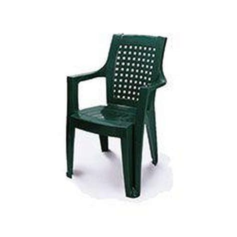buy high back stacking garden chair green at argos co uk