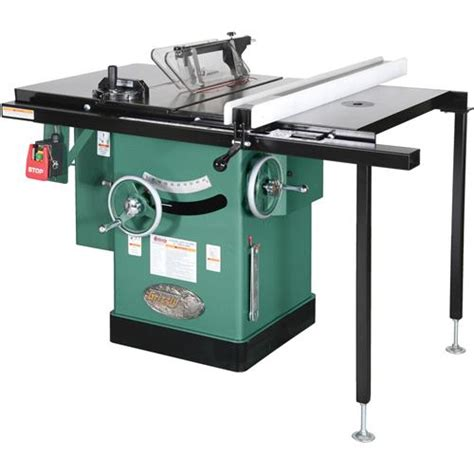 g1023rlw 10 quot 3 hp 240v cabinet left tilting table saw ebay
