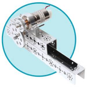 tetrix 174 max rack and pinion linear slide pack w39300