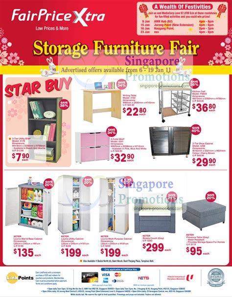 Home Decoratives Online fairprice xtra storage furniture fair january 2011