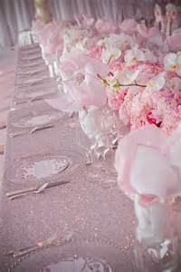 pretty in pink wedding decorations on eweddinginspiration
