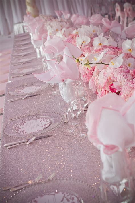 pretty in pink wedding decorations on eweddinginspiration eweddinginspiration
