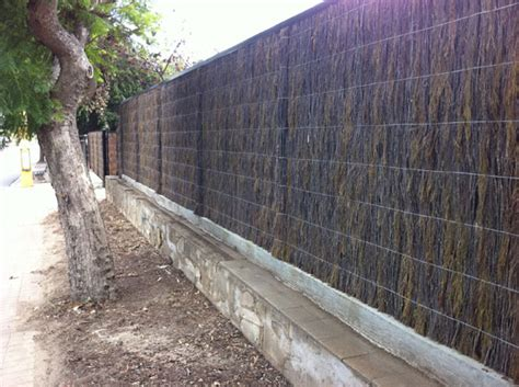 Adelaide Brush Fencing Melbourne - image new machine compressed brush panel fence with