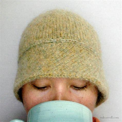 cloche hat pattern knitting matilda tillie knit cloche hat pattern mk carroll
