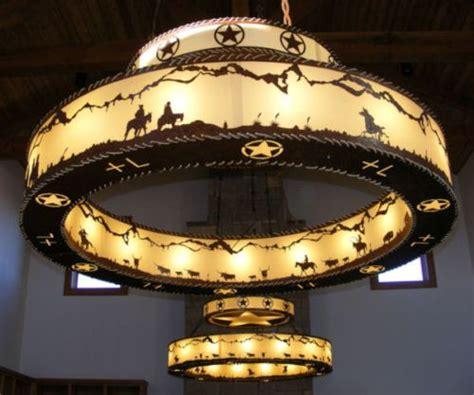 iron works rustic western lighting rustic