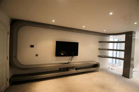 Modern Wall Mounted Shelves by 3d Bespoke Furniture Design London Bespoke Interiors