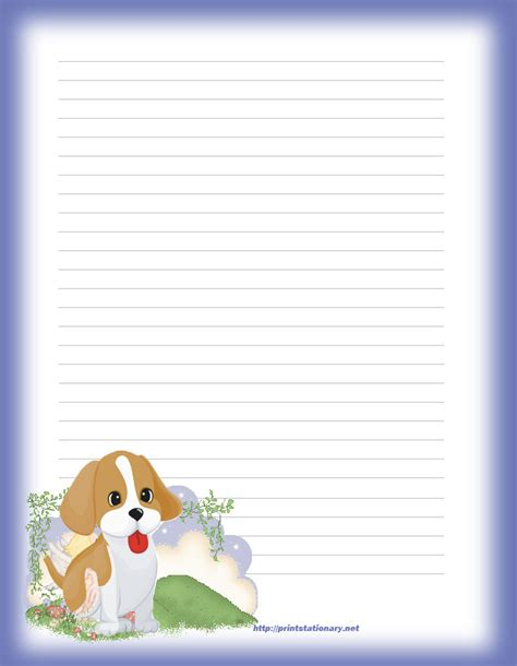 Printable Stationary Stationery Free Writing Paper Downloadable Stationery Templates
