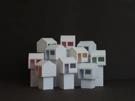 House With Paper - house and home paper houses daily muse