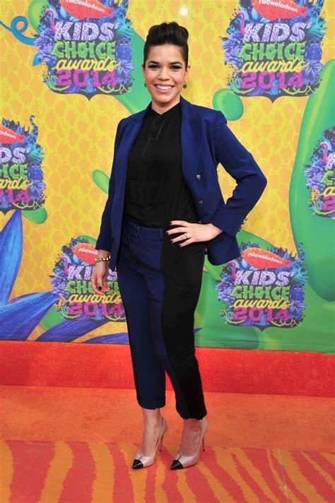 Choice Awards America Ferrera by America Ferrera In Beard Separates Nickelodeon