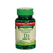 Natures Way High Strength Vitamin D3 1000iu 150 Caps vitamin d shop heb everyday low prices