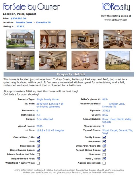 templates for house for sale by owner flyers free fsbo listing free for sale by owner website