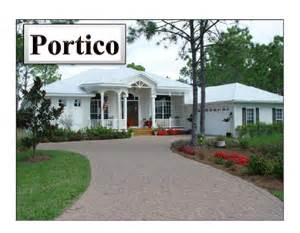 House Plans With Portico by Portico Model Ramos Builders Inc