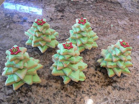 christmas 3d cookies nifty 3d tree cookies great to eat or give