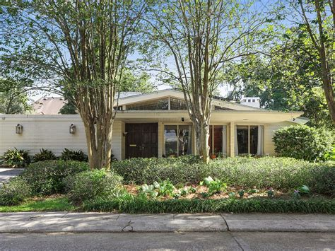 midcentury home midcentury modern homes for sale in new orleans mapped