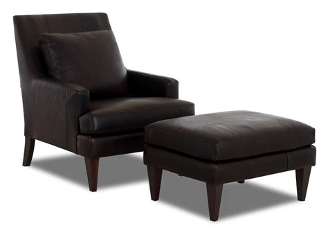 accent chair and ottoman set klaussner chairs and accents townsend accent chair and