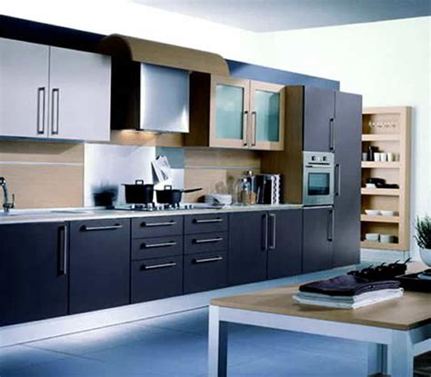 unique interior design of fashionable kitchen
